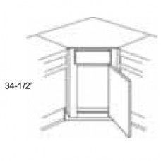 CSF36-Newport Corner Sink Front - TufBuilt Ready to Assemble Kitchen Cabinet