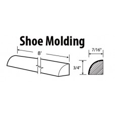 SM8-York Shoe Molding - TufBuilt Ready to Assemble Kitchen Cabinet Accessories