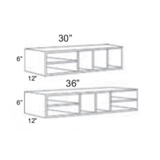 WO366-Berkshire Wall Organizer - TufBuilt Ready to Assemble Kitchen Cabinet