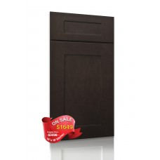 SDR-Shaker Espresso Sample Door - TufBuilt Assembled Kitchen Cabinet Accessories