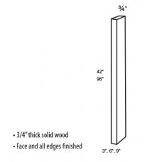 F342-Salem Filler Strips - TufBuilt Assembled Kitchen Cabinet Accessories