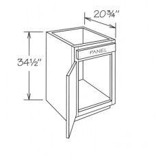 VB18-York Vanity Base Cabinet - TufBuilt Ready to Assemble Kitchen Cabinet