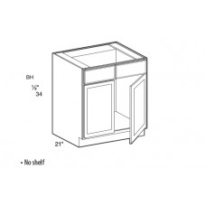 VSB24-York Vanity Sink Base Cabinet - TufBuilt Ready to Assemble Kitchen Cabinet